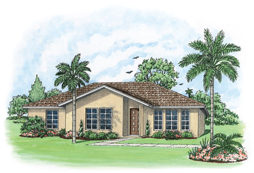 Affordable New Home Builder - Naples, Cape Coral, Fort Myers FL Biscayne